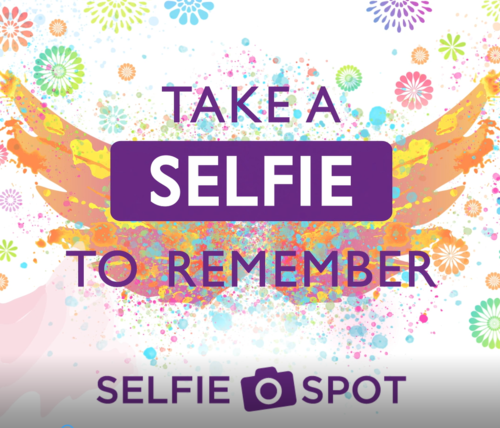 Take a snap to remember at our Selfie Spot to be in with a chance of winning £20!